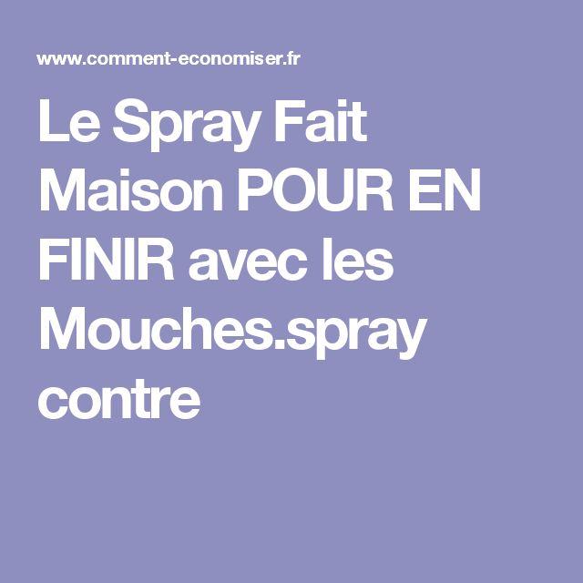17 meilleures id es propos de spray anti mouche fait a la maison sur pinterest r pulsifs - Plante anti mouche maison ...