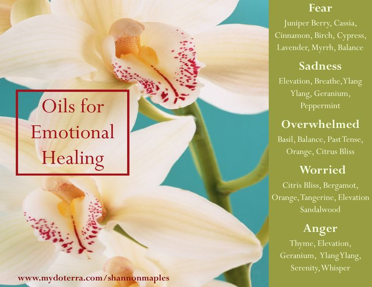 Here are a few essential oils that can be used some for some very common emotional issues. For more info, or to order oils at 25% off retail, join the conversation on Facebook at https://www.facebook.com/eosandmore or http://www.mydoterra.com/shannonmaples/