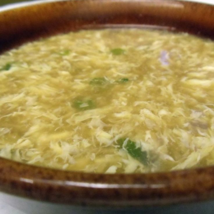 chinese egg drop soup - photo #5