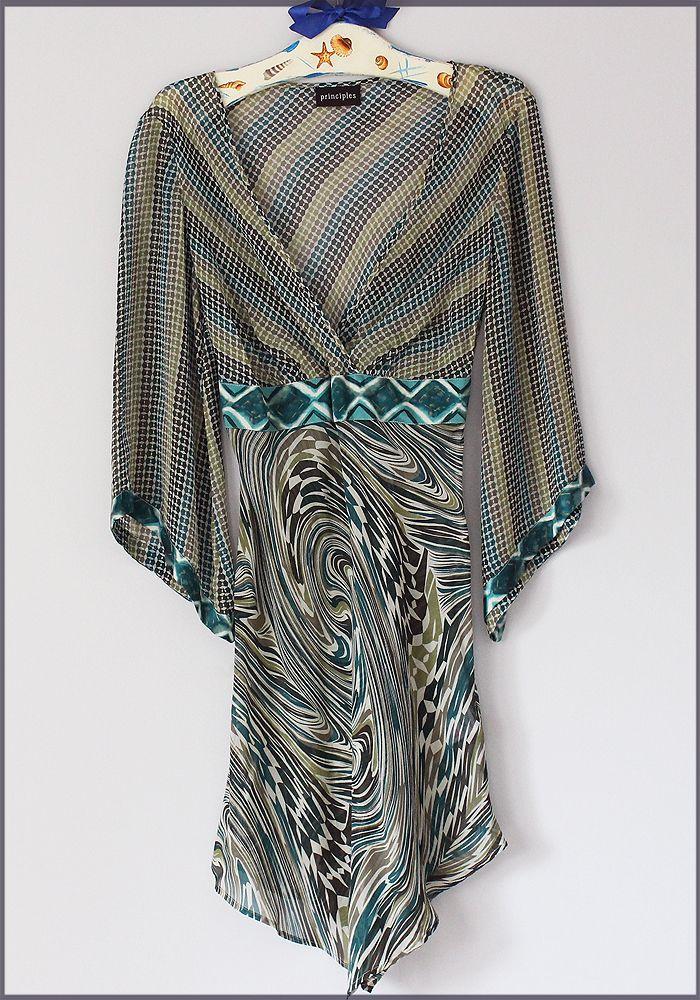 Principles Luksusowa Jedwabna Sukienka 38 40 M L 7090159444 Oficjalne Archiwum Allegro Fashion Womens Fashion Moda Boho
