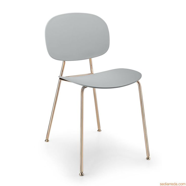 Tondina Pop for Bars and Restaurants - Metal chair, seat and backrest in polypropylene or with covering, also with armrest - Sediarreda Contract Furniture