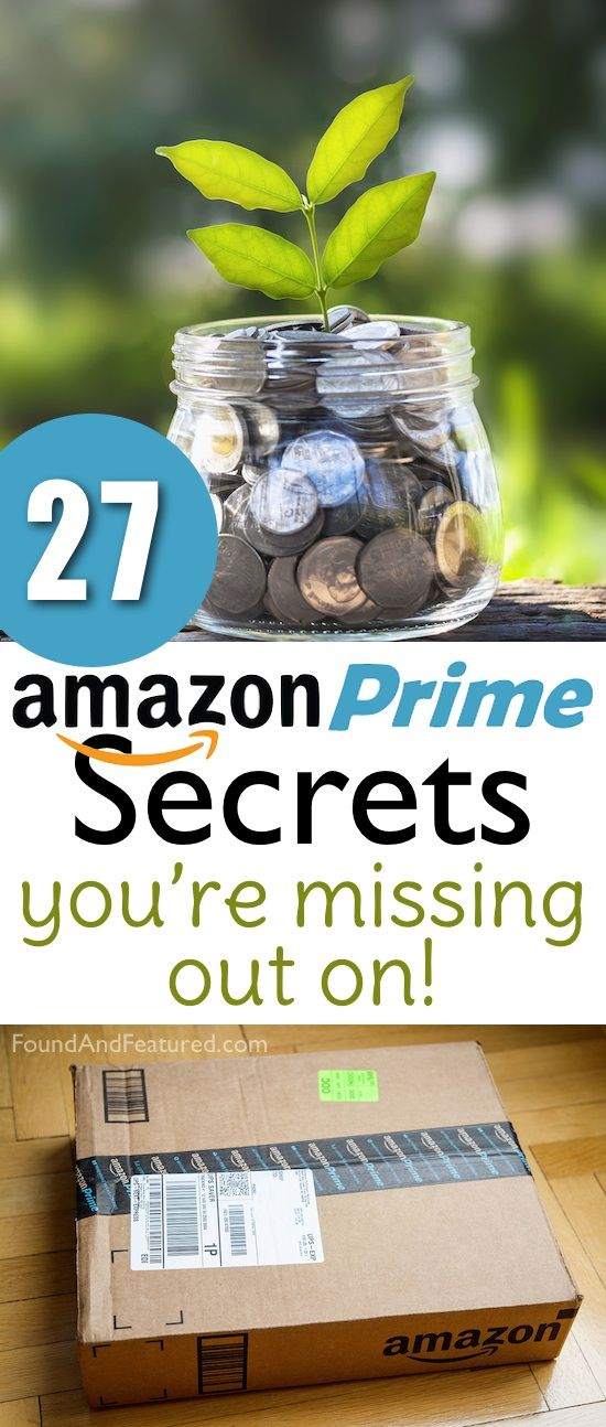 Amazon prime secrets that will change your life! Or at least how you decide to shop. :)