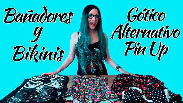 Bañadores Góticos y Bikinis #bañador #bikini #gothic #goth #alternative #pinup #retro #xtremonline
