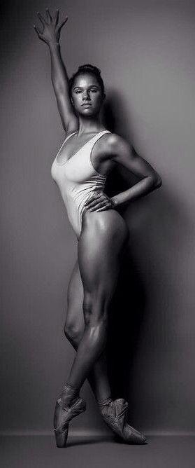 Ballet dancer Misty Copeland.