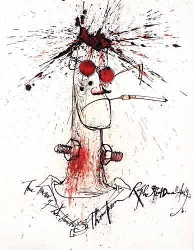RALPH STEADMAN, Illustration, Proud to be Weirrd