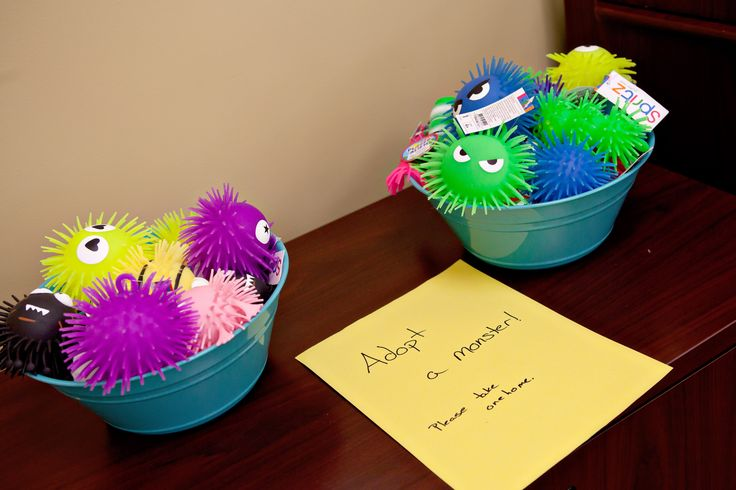 Adopt a monster - party favors for Monster -themed birthday party