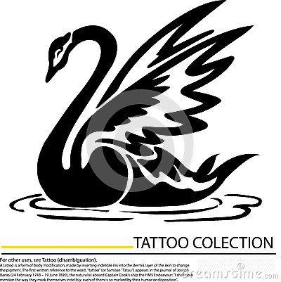 Gallery For > Black Swan Tattoo Designs