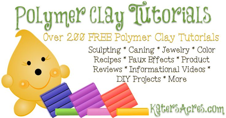 1000 Images About Polymer Clay Tutorials Free On Pinterest
