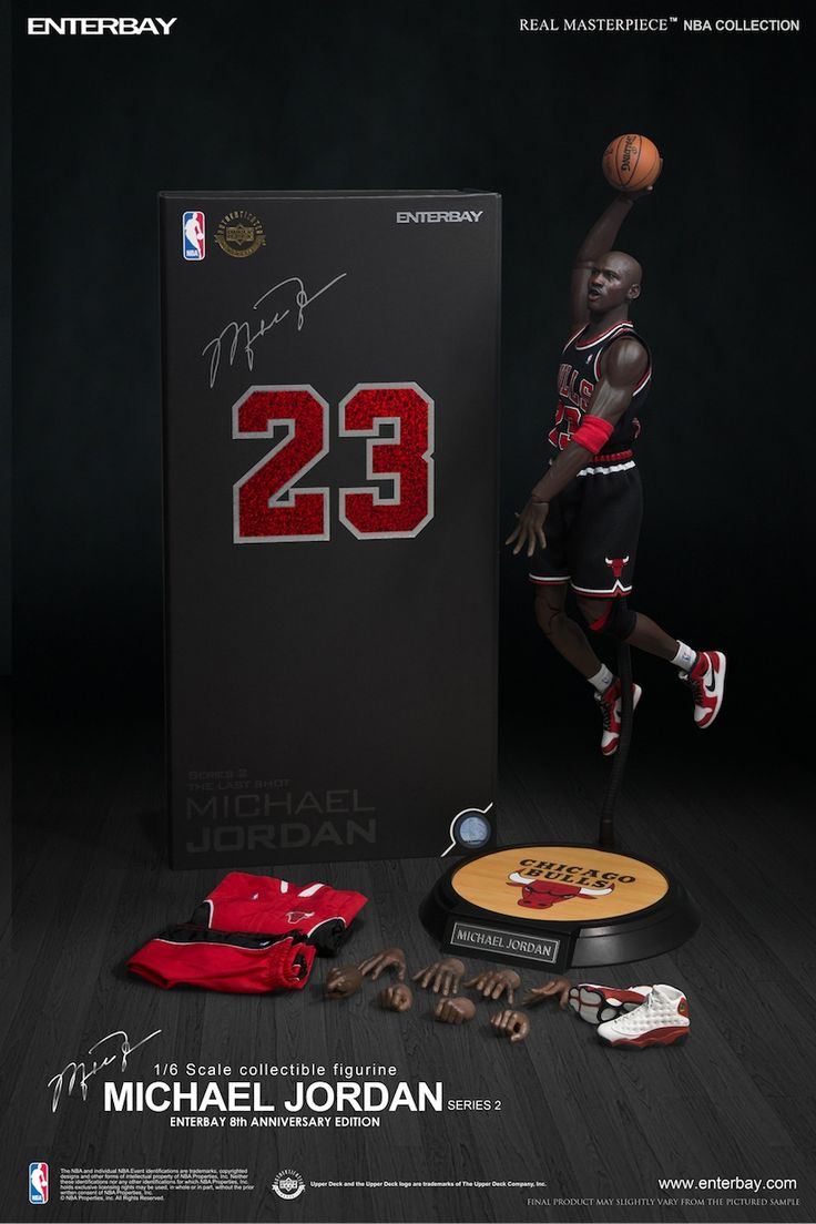 1/6 Scale Collectible Michael Jordan Figure by Enterbay (7 Pictures)