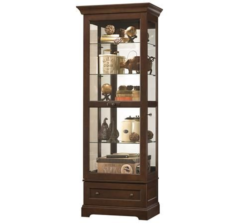 Luxury Herman Miller Curio Cabinets