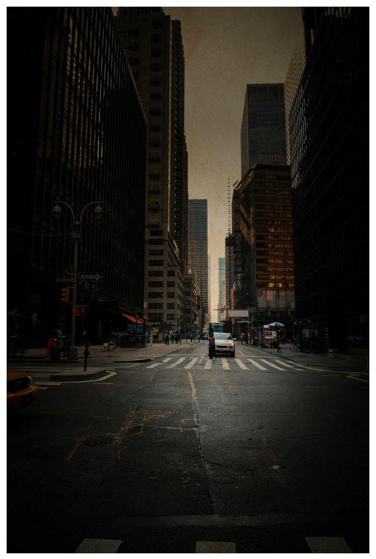 Petit matin à New-York… © françois Joret