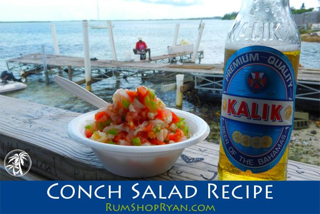 In the mood for Conch Salad?! Here is a conch salad recipe for you to dive into. Click the image for the recipe. Cheers! #Bahamas #Caribbean #Travel #Food