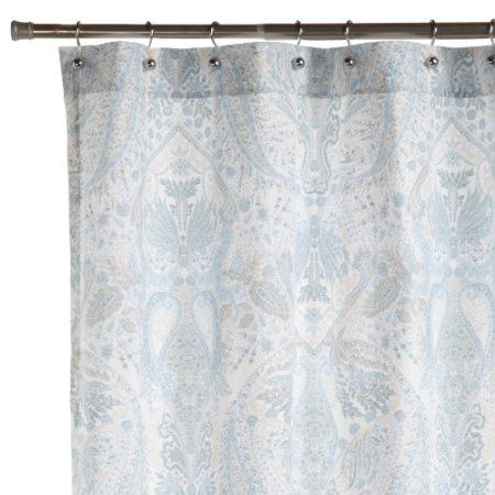 Curtains Ideas blue paisley shower curtain : 17 Best images about Bath accessories on Pinterest | H&m, Ps and ...