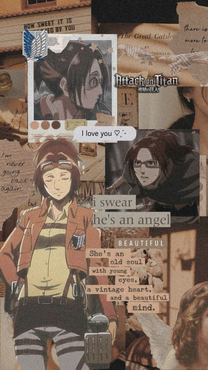 Hange Zoe Aesthetic Wallpaper Anime Background Anime Wallpaper Anime Backgrounds Wallpapers