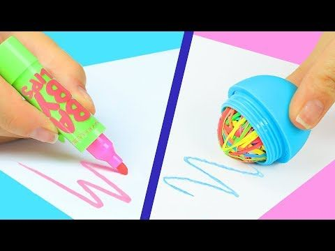 SaraBeautyCorner DIY copied this idea from me in her video 12 wired back to school hacks! - YouTube
