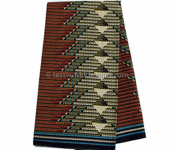 Quality Brown Dutch Wax sold per yard/ for Ankara clothing, African Maxi skirt/ Ankara clothing/ African fabric store/ WP681B