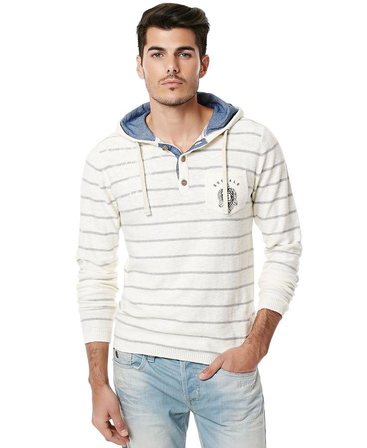 Buffalo David Bitton Men's Wilsemot Long Sleeve Sweater | Project ...