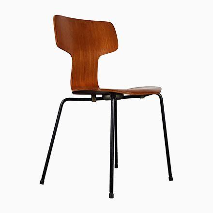 Modell 3103 Hammer Stuhl von Arne Jacobsen für Fritz Hansen, 1960er Jetzt bestellen unter: https://moebel.ladendirekt.de/kueche-und-esszimmer/stuehle-und-hocker/esszimmerstuehle/?uid=cf0bcb1a-5087-51f5-ac8a-195803b68677&utm_source=pinterest&utm_medium=pin&utm_campaign=boards #kueche #esszimmerstuehle #esszimmer #hocker #stuehle
