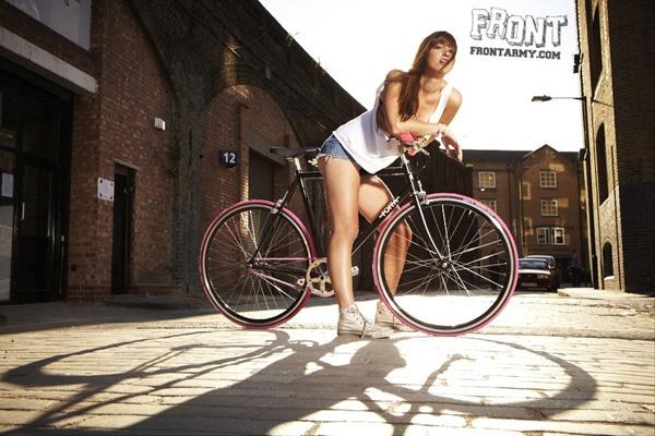 Fixie !  what i think i look like on my bike.