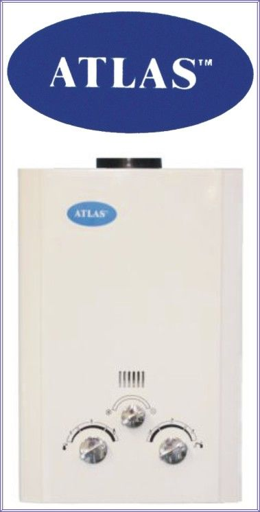 atlas Water heaters Gas On Demand | Gas Water Heating by The Gas Experts cc