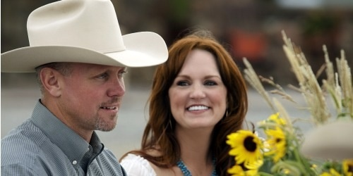 Ree Drummond and her husband Ladd.. this one is for Em.