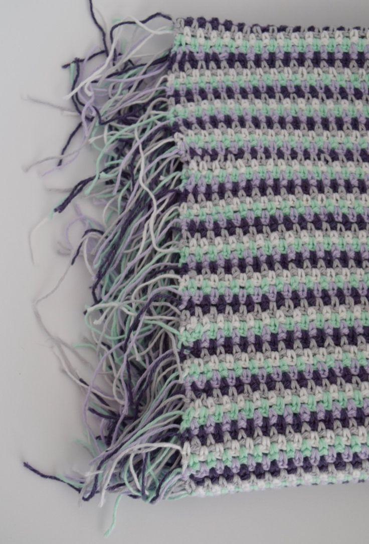 Een super snel en stoer babydekentje om te haken..! Met dit gratis patroon maak ik je in een mum van tijd een stoer dekentje, want met deze simpele steek kun je tomeloos haken. Kies je favoriete kleurtjes en leef je uit :)