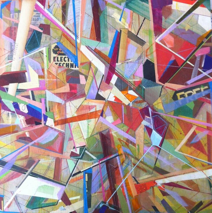 Painting by San Francisco Bay Area artist Matt Crestetto.