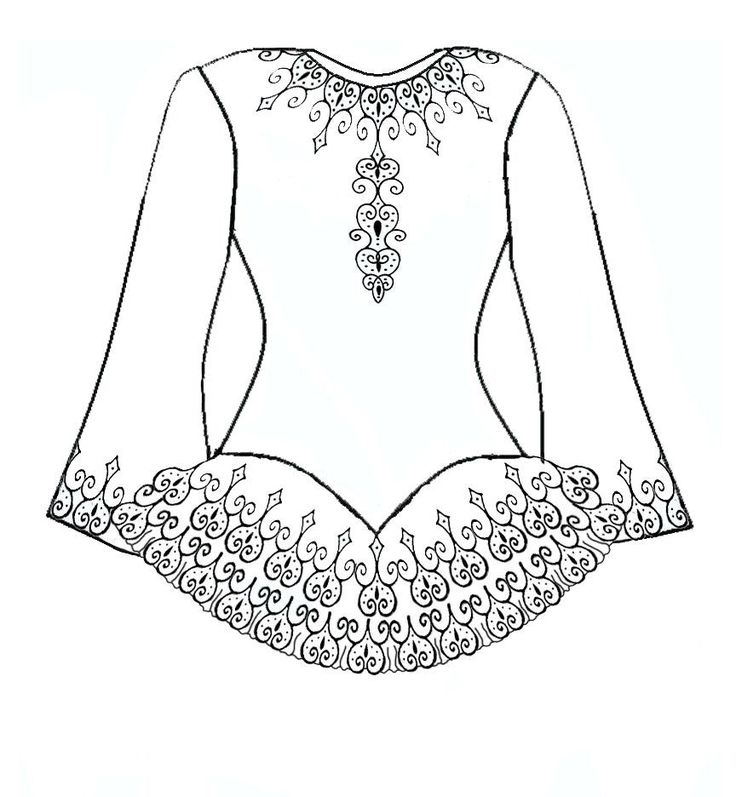irish step dancing coloring pages - photo#12