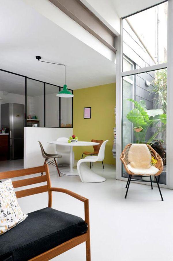 Via April and May   Midcentury Modern   Panton   Saarinen