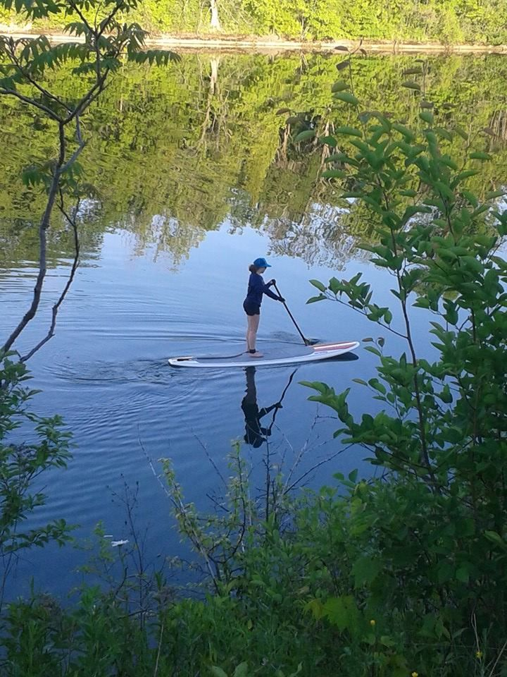 #SUP adventure on the Welland Canal Canada :)