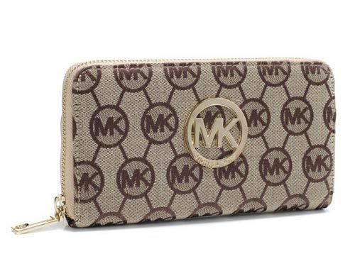 Michael Kors Apricot Monogram Jacquard Wallet : Michael Kors Outlet,  Welcome to Michael Kors Outlet Online,Fashional michael kors handbgs,michael  kors ...
