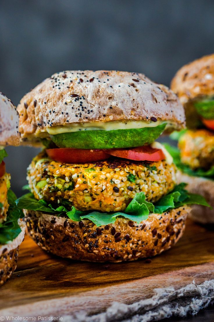 Happy Monday! Begin your week right with a serving of plant based burgers! These are my hemp seed vegan burger patties filled with simple and classic ingredients. Burgers don't have to be difficult or time consuming to prepare and cook, especially the veggie kind! What's exciting about these vegan burger patties are the have hemp...
