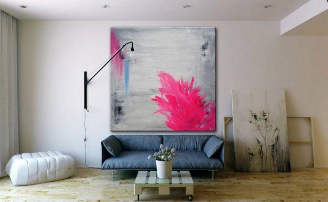 LENNI WEBBER - THE NEST [LW-ART91] - $499.00   United Artworks   Original art for interior design, buy original paintings online