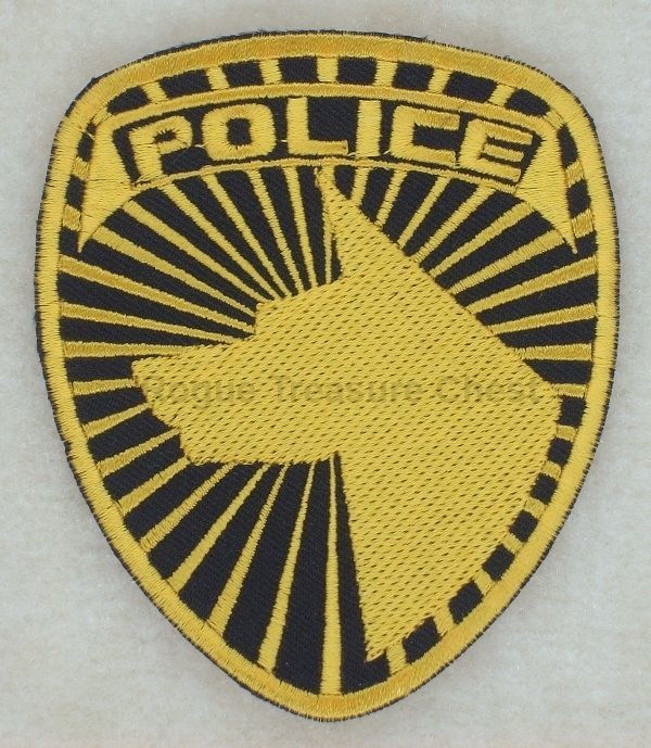 Power Rangers Dekaranger SPD Insignia Sew on Embroidered Patch Gold Version #PowerRangersSPDSentaiDekaranger