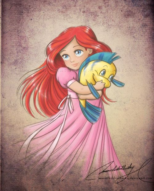 .Little Girls, Disney Princesses, Thelittlemermaid, Girls Room, Disney Art, Baby Girls, The Little Mermaid, Disney Character, Disney Movie