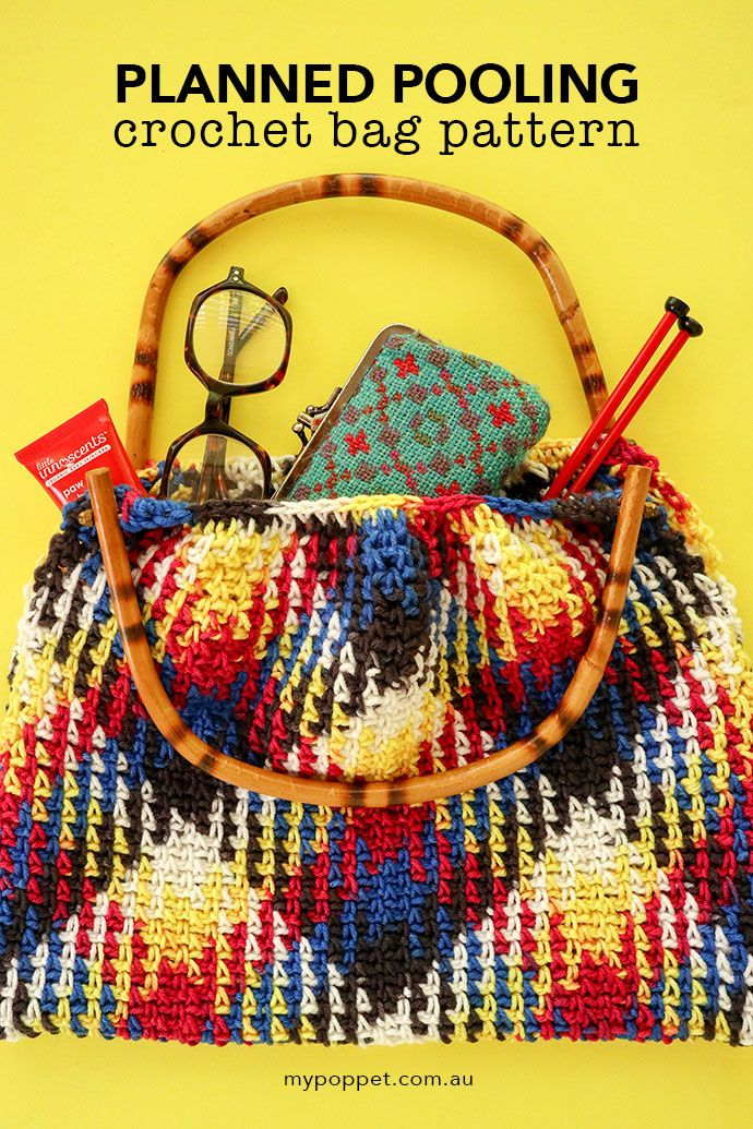 Planned Pooling Crochet Bag Planned Pooling Tips Crochet