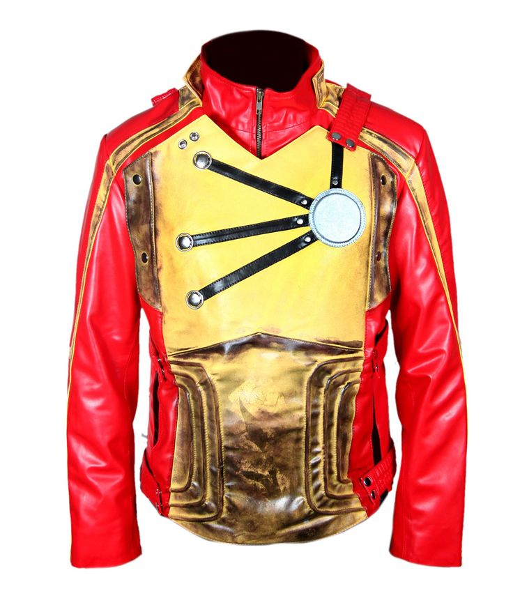 F&H Boy's Distressed Legends of Tomorrow Firestorm Jacket S Red. Premium Quality Synthetic Leather. Polyester + Satin Lining with 2 Inside Pockets. Original YKK Zipper. 30 Day Returns & Exchange, 100% Money Back Guarantee. International buyers may be required to pay import duties as levied by their government.