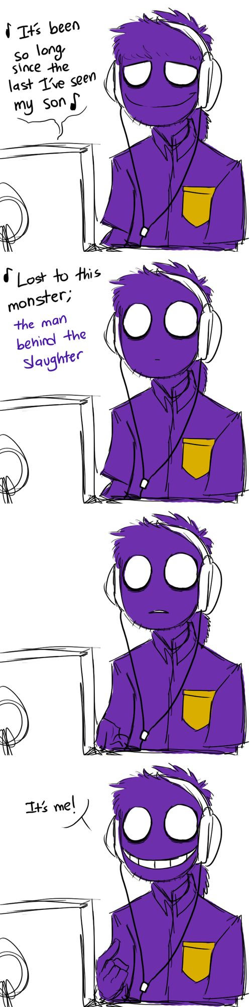 Phone guy x purple guy fanfic lemon - If Purple Guy Stumbled Upon Tlt S It S Been So Long Song