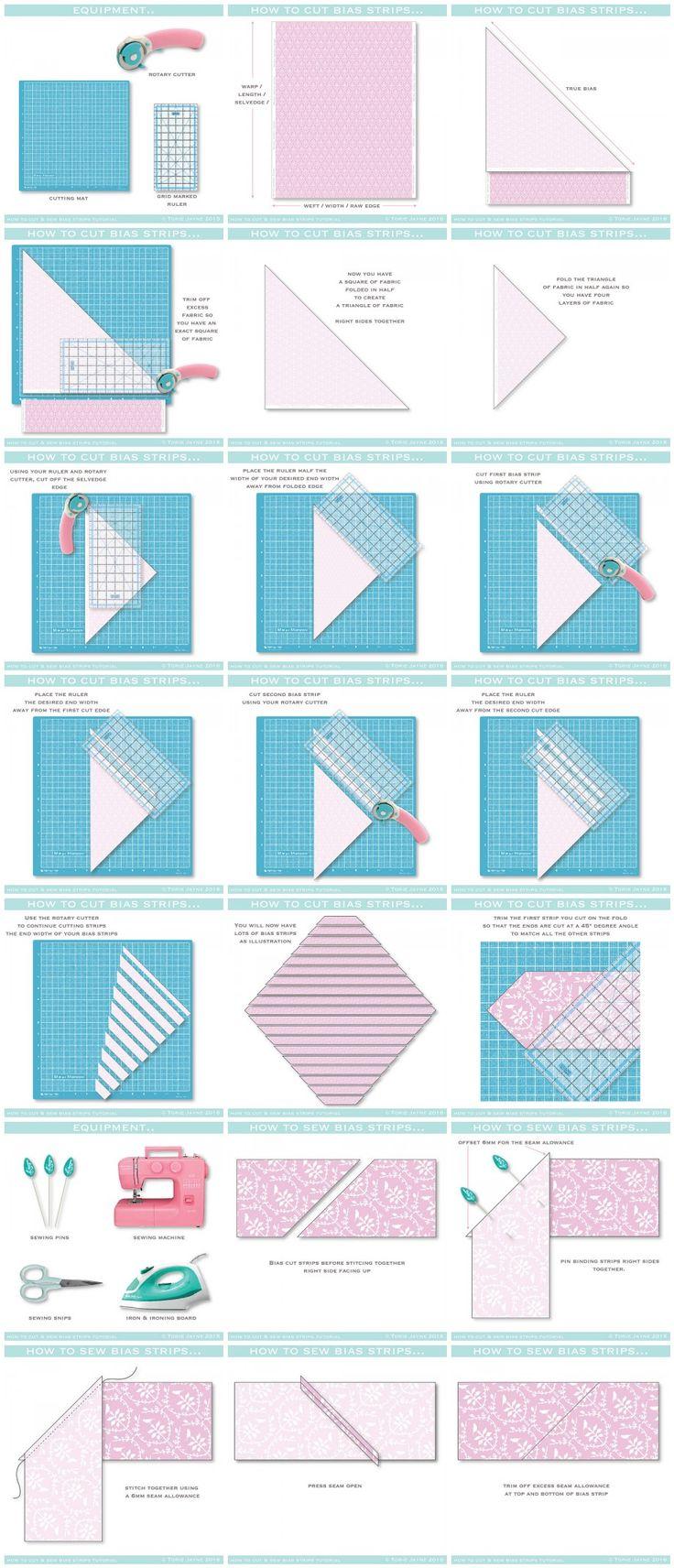 8421 best Quilt patterns images on Pinterest : cutting bias strips for quilt binding - Adamdwight.com