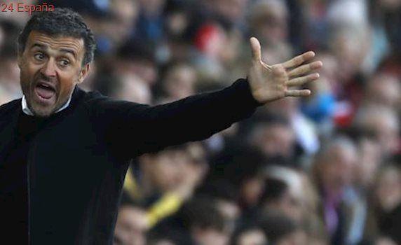 Un Luis Enrique «pletórico» considera clave el partido ante el Sporting para presionar al Real Madrid