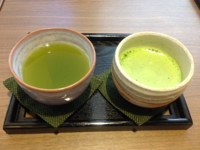 Sencha and Matcha