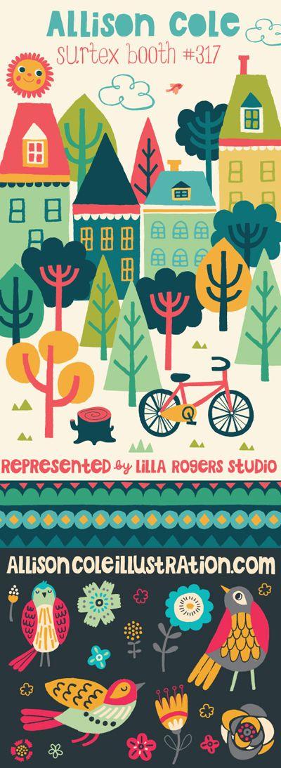 print & pattern: SURTEX 2013 - lilla rogers studio