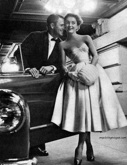 1953 Dress by David Klein
