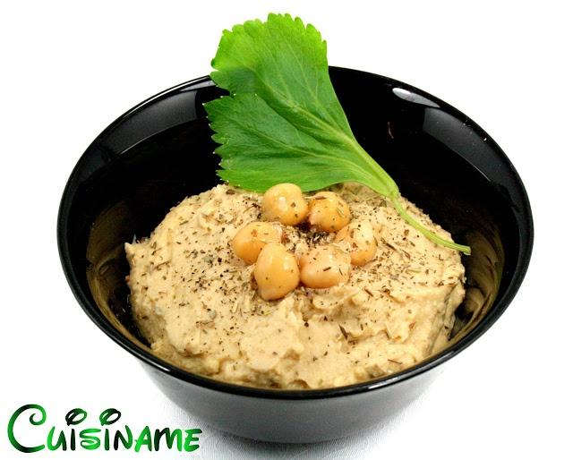 Exquisita receta de hummus. Una delicia al paladar.