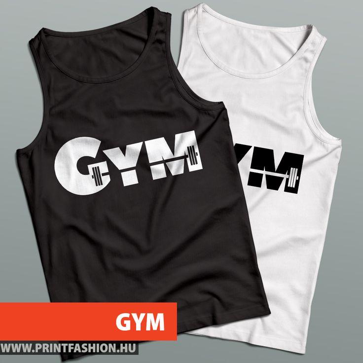 GYM - Gyúrós atléta, női és férfi méretben, több színben! FEHÉR FELIRAT: http://printfashion.hu/mintak/reszletek/gym/ferfi-atleta/ FEKETE FELIRAT: http://printfashion.hu/mintak/reszletek/gym3/ferfi-atleta/
