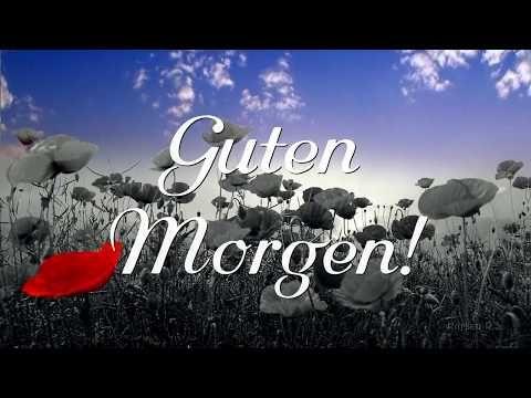 Nur für Dich,....... #Guten Morgen Gruß - YouTube