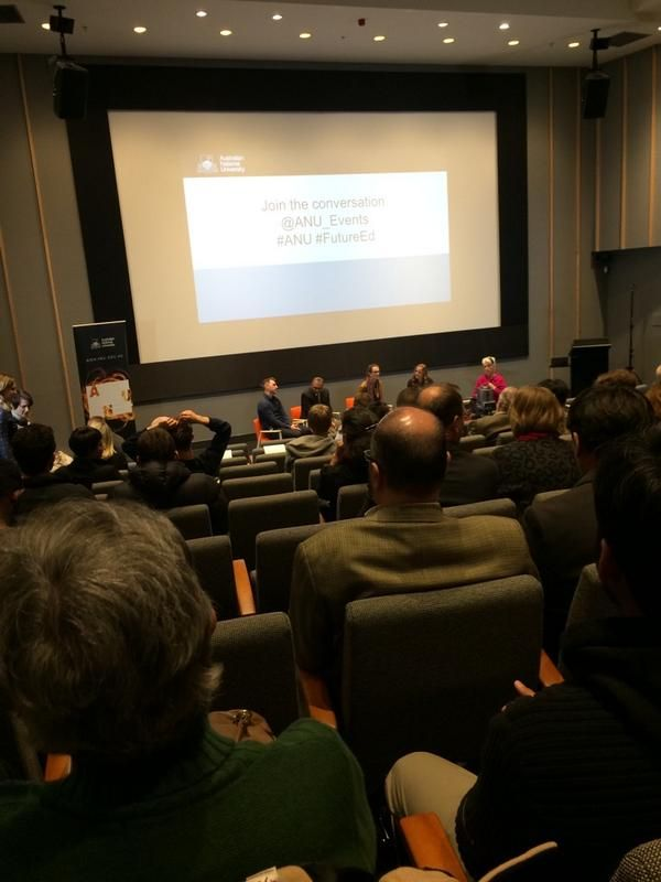 "Storified tweets from the ANU ""Blow up the Lecture"" event"