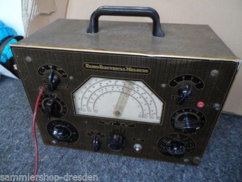 21920-Radio-Electrical-Measure-France-SURESNES-Oszillator-1948-Roehren