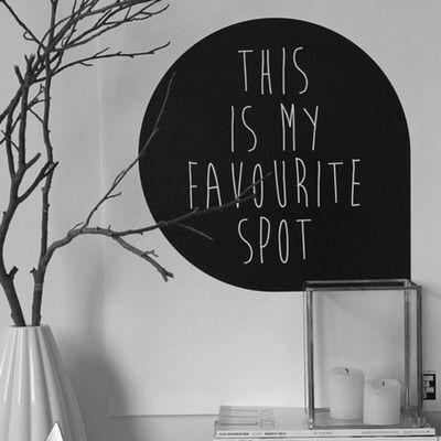 Favourite spot