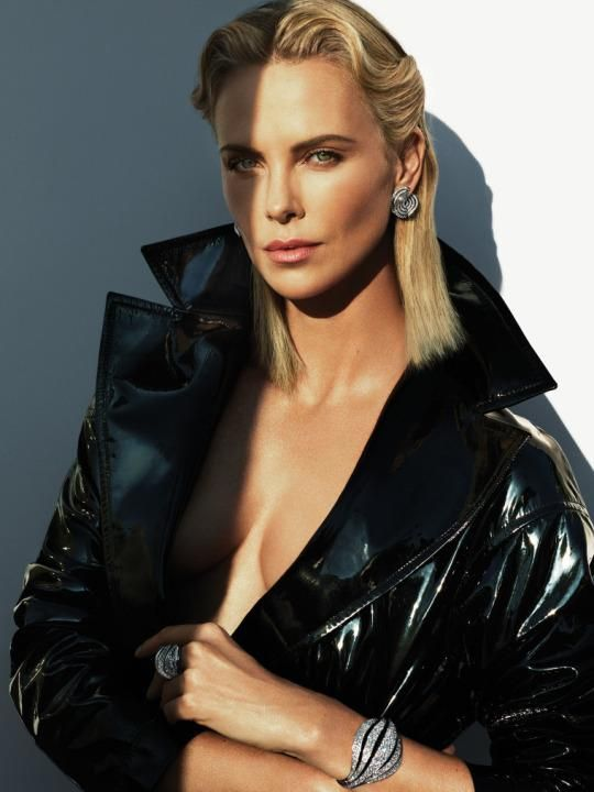 (photo: Mert Alas and Marcus Piggott) Mad Max: Fury Road star Charlize Theron is all about pushing limits.